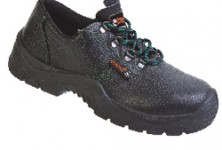 Обувки цели от естествена кожа